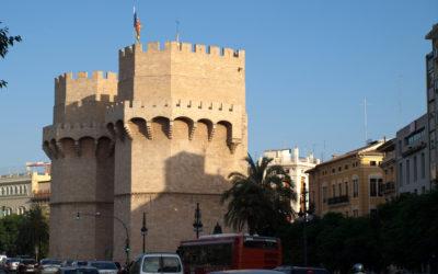 Paisajes de la ciudad de Valencia