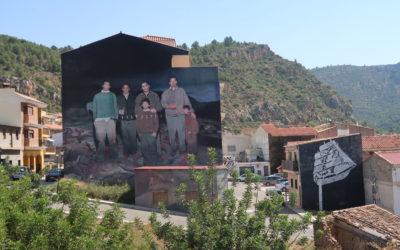 Arte urbano en entorno rural (Miau-Fanzara)